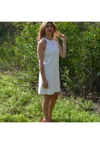 Vestido blanco sisa