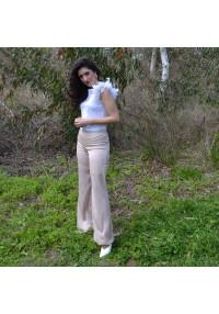 Pantalon lunares rosa